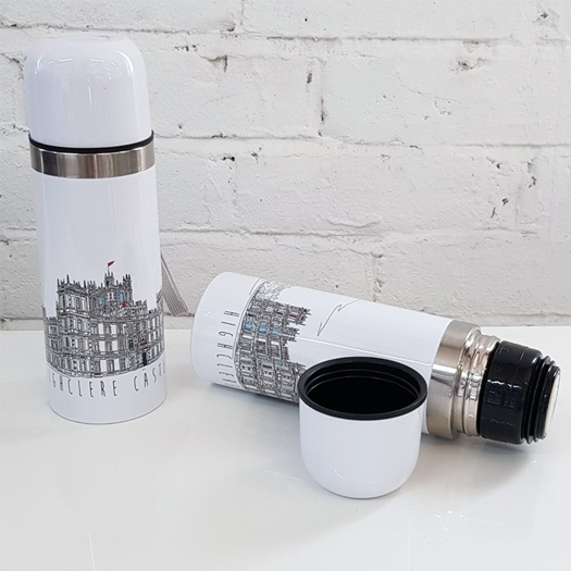 White Thermos Flask